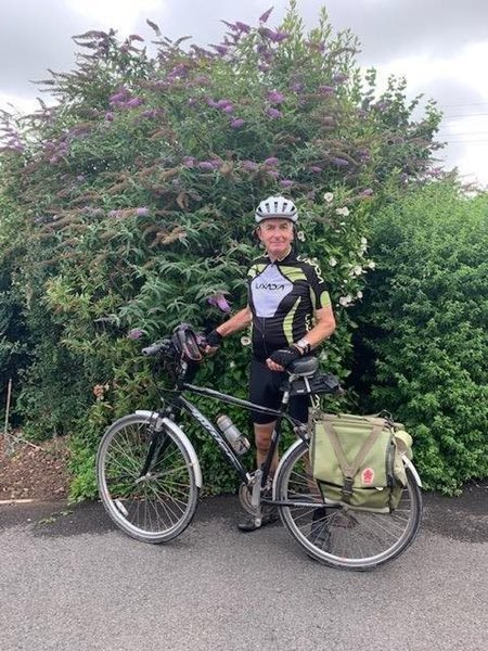 Steve's cycle ride for the homeless